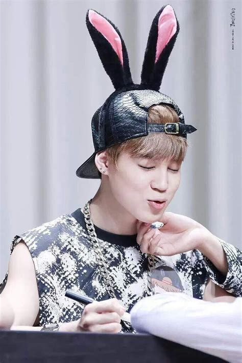21 Photos Of BTS With Bunny Ears To Brighten Your Easter