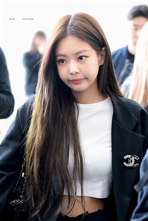 Jennie Airport Photos at Incheon to Los Angeles on April
