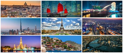 Top 18 Most Visited Cities In The World | Brain Berries