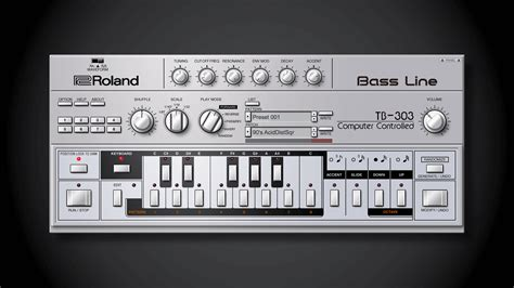 Roland Cloud adds Roland TB-303 software bass synthesizer