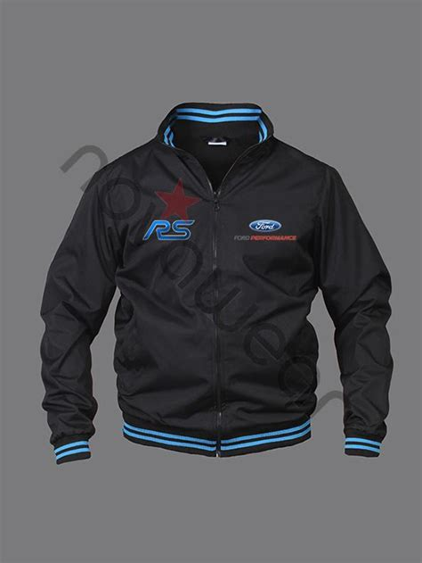 Ford RS Bomber Jacket Black-Ford Clothing, Ford RS
