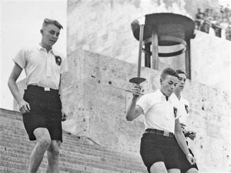 The first Olympic torch: 1936 Hitler's Berlin Games