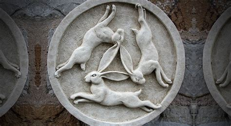 New Book Explores The Meaning Of The Three Hares, One Of