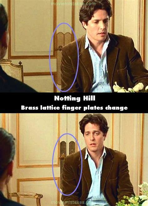 Notting Hill (1999) movie mistake picture (ID 5508)