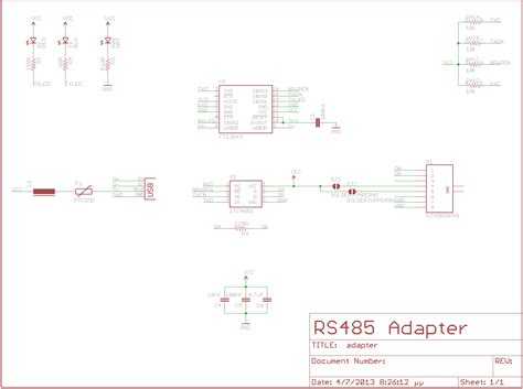 USB to RS485 Adapter - Electronics-Lab