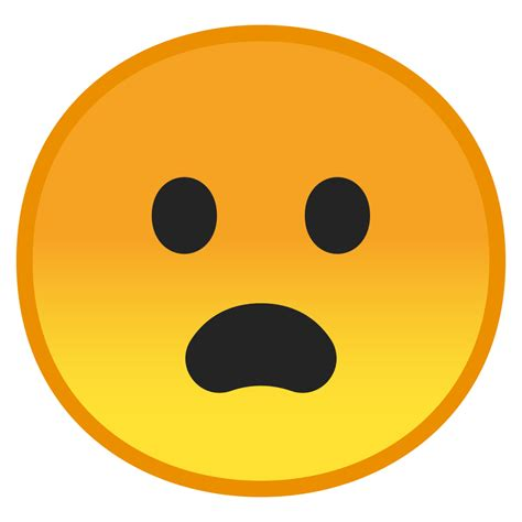Frowning face with open mouth Icon | Noto Emoji Smileys