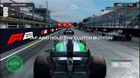 F1 Mobile Racing- The Game that lets you design your own