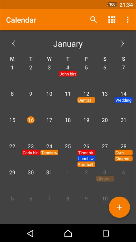 Simple Calendar Pro | F-Droid - Free and Open Source